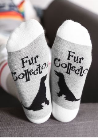 Fur Collector Dog Warm Socks