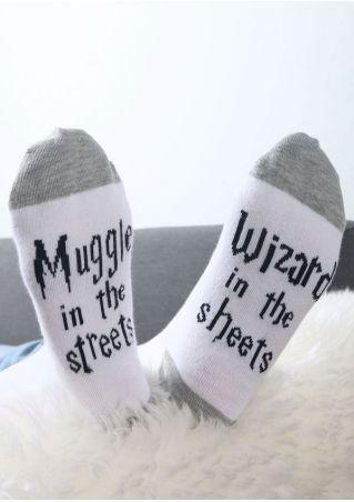 Muggle In The Streets Socks