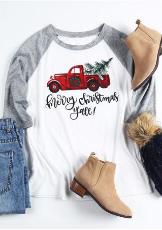 Merry Christmas Y'all Baseball T-Shirt
