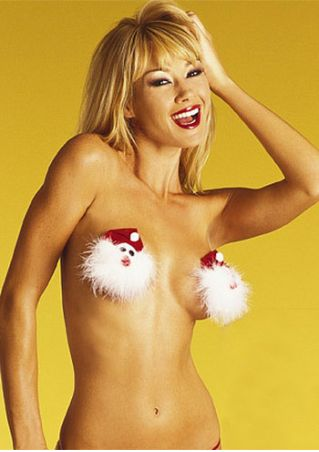 Christmas Santa Nipple Covers