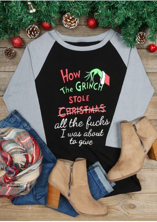 How The Grinch Stole Christmas Baseball T-Shirt