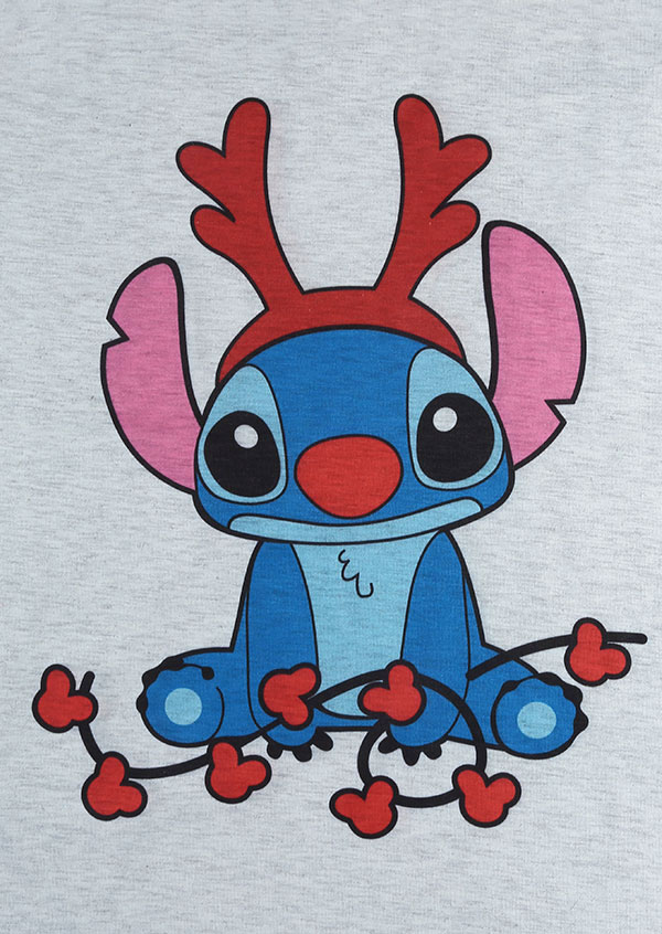 Christmas Stitch O Neck Baseball T Shirt Bellelily