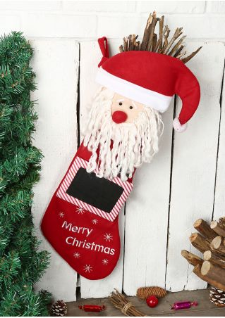 Merry Christmas Santa Claus Gift Stocking