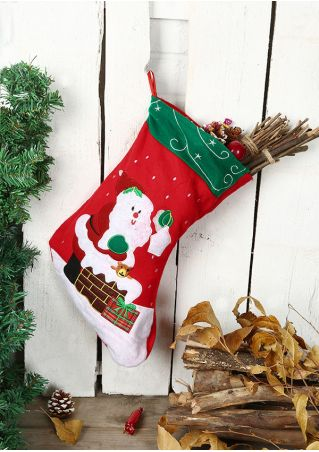 Christmas Santa Claus Gift Stocking