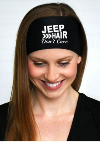 Jeep Hair Don't Care Headband