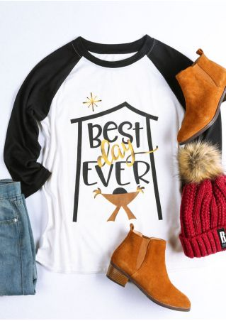 Best Day Ever Baseball T-Shirt