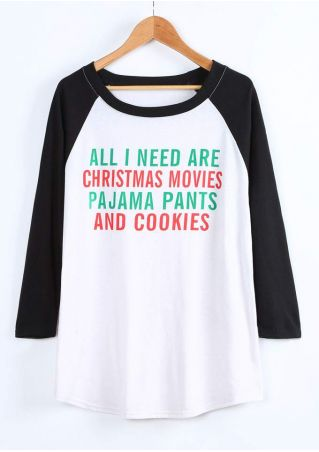 Plus Size All I Need Are Christmas Movies Baseball T-Shirt