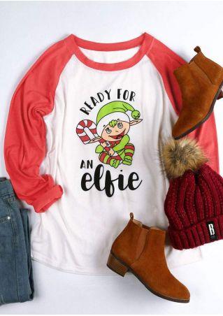Christmas Ready For An Elfie Baseball T-Shirt