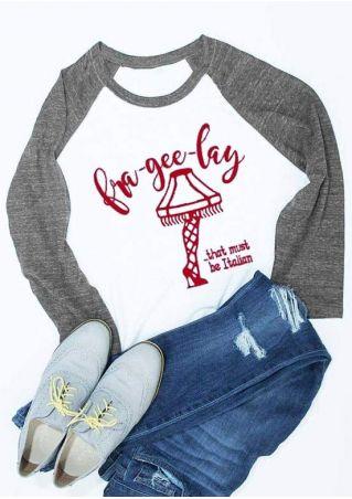 Christmas Fra-Gee-Lay O-Neck Baseball T-Shirt