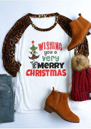 Wishing You A Very Merry Christmas Baseball T-Shirt