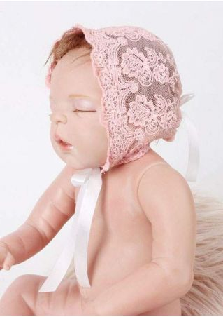 Newborn Lace Floral Hat Beanie Photo Prop