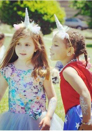 Children Cosplay Party Horn Headband