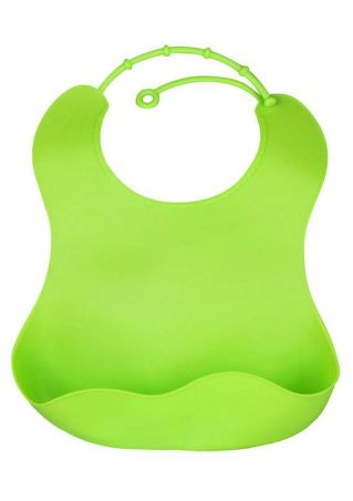 Baby Solid Removable Waterproof Anti-Dirty Bib