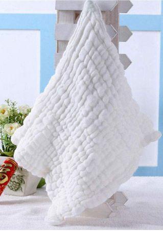 Cotton Baby Infant Burp Cloth Bath Towel Washcloth