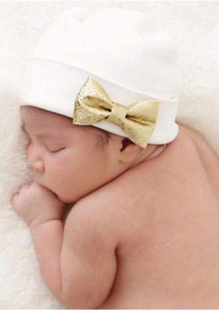 Baby Cute Comfy Bowknot Cap