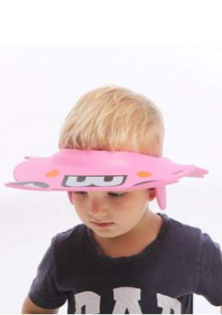 Kid Shower Frog Hat Waterproof Shield