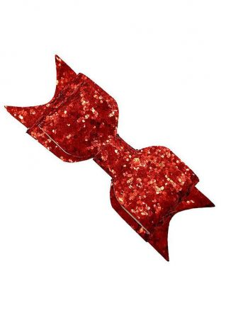 Kids Sequins Bow Bowknot Hairpin