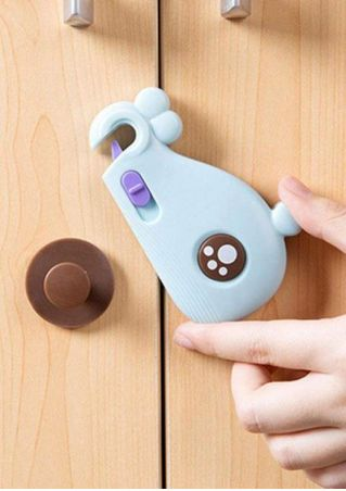 Baby Safety Whale Shape Cupboard Protection Lock