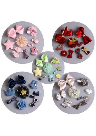 Grils Headdress Flower Hairpins