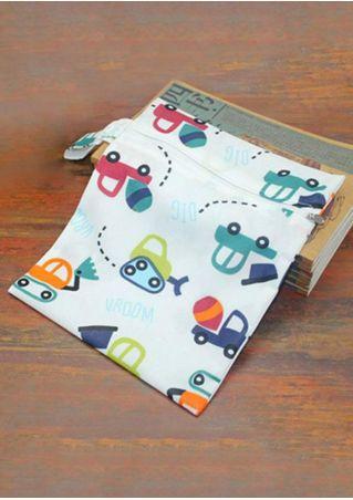Baby PU Cotton Waterproof Diaper Bags