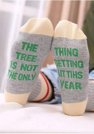 The Tree Is Not The Only Thing Socks