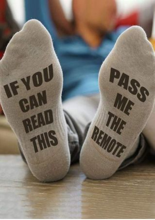 Pass Me The Remote Socks