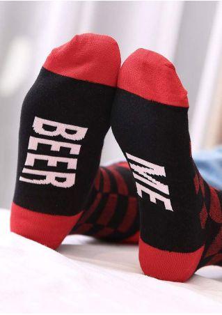 Beer Me Warm Socks