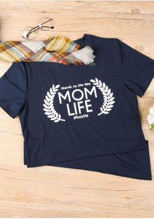 There's No Life Like Mom Life T-Shirt