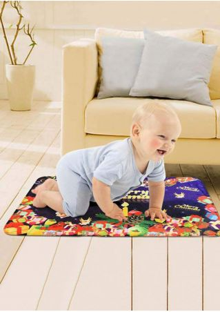 Baby Merry Christmas Crawling Mat