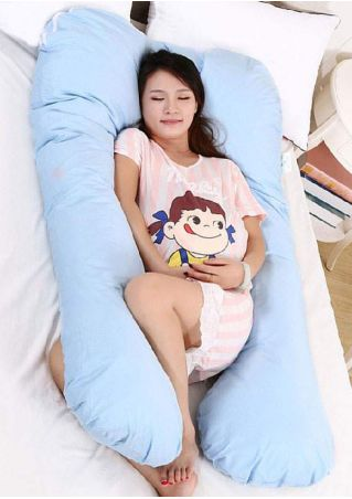 Solid Maternity Total Body Support Pillow