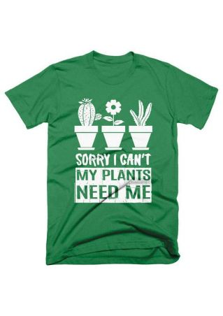 My Plants Need Me T-Shirt
