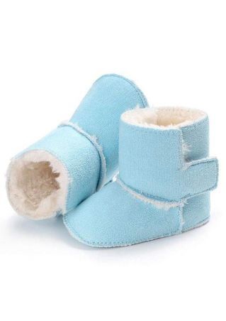Baby Solid Warm Snow Boots