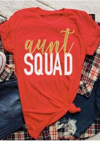 Aunt Squad Short Sleeve T-Shirt