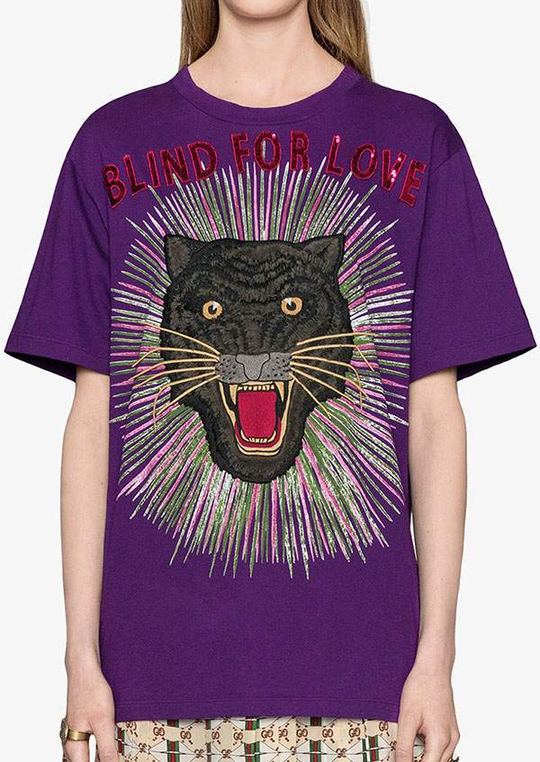 Blind For Love Panther Rays T-Shirt 42310