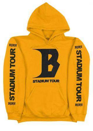 Stadium Tour Drawstring Long Sleeve Hoodie