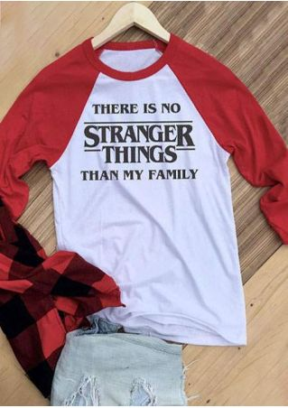 There Is No Stranger Things Baseball T-Shirt