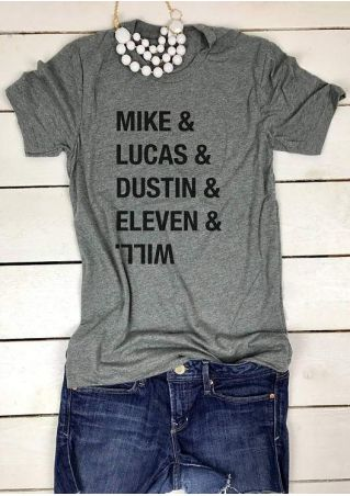 Mike Lucas Dustin Eleven Will T-Shirt