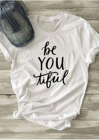 Beautiful O-Neck Short Sleeve T-Shirt