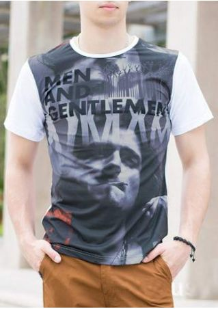 Men and Gentlemen Printed T-Shirt