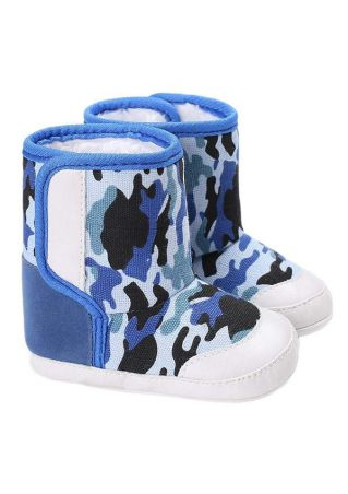 Baby Camouflage Printed Warm Boots