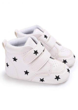 Baby Star Heart Prewalker Shoes