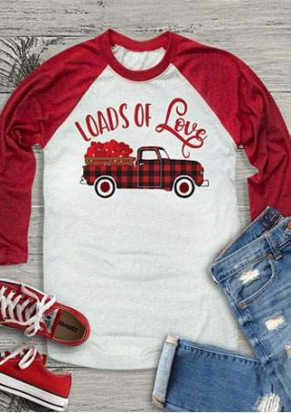 Loads Of Love Baseball T-Shirt
