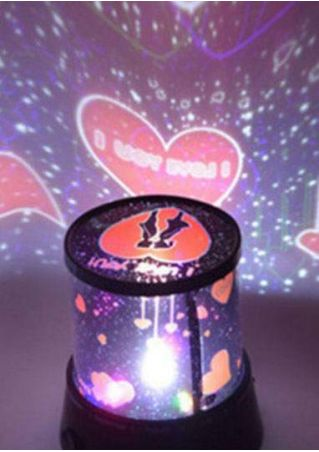 Valentine's Day Gift LED Projector Lamp