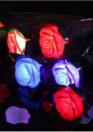Valentine's Day Gift Luminous Artificial Rose
