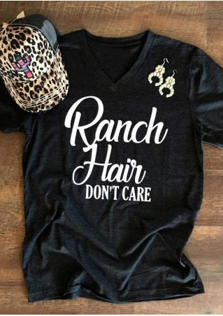 Ranch Hair Don't Care T-Shirt