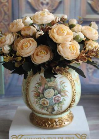 Artificial Peony Flower Home Decor