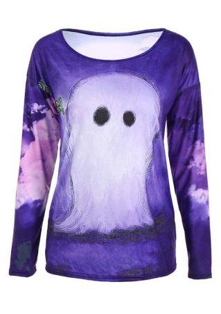 Halloween Printed Costume T-Shirt