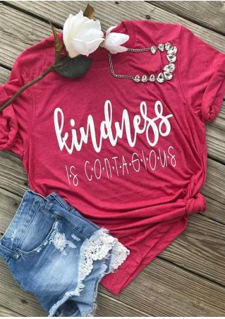 Kindness Is Contagious O-Neck T-Shirt