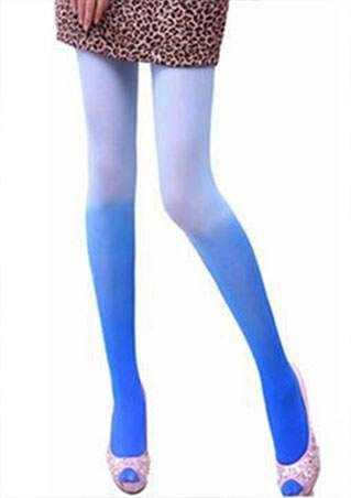 Gradient Color Pantyhose