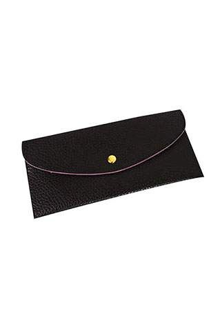 Solid PU Clutch Wallet